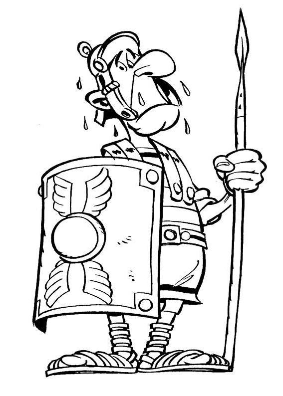 Ausmalbilder F 252 R Kinder Asterix Und Obelix 11