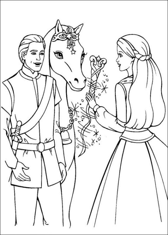 Barbie und der geheimnisvolle Pegasus Ausmalbilder Malvorlagen ...