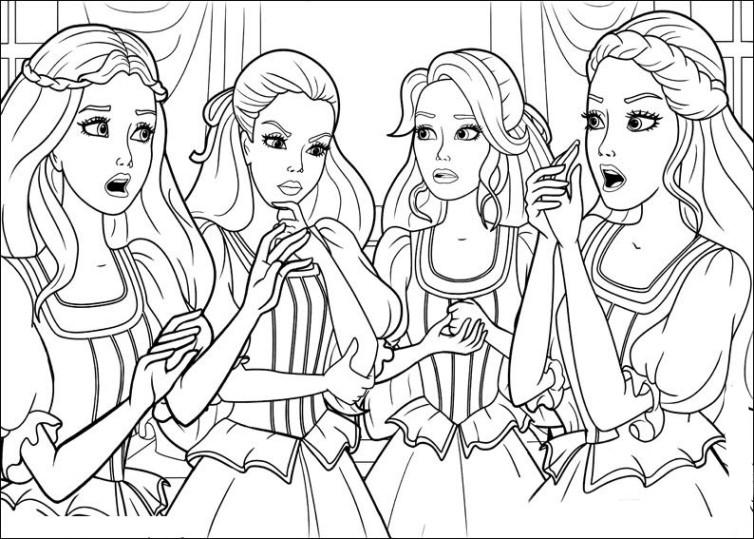 Tolle Barbie Malvorlagen Mode Kleid Ideen - Malvorlagen-Ideen ...