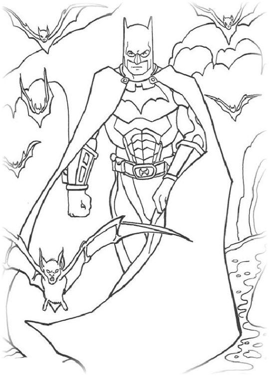 Ausmalbilder Für Kinder Batman 23