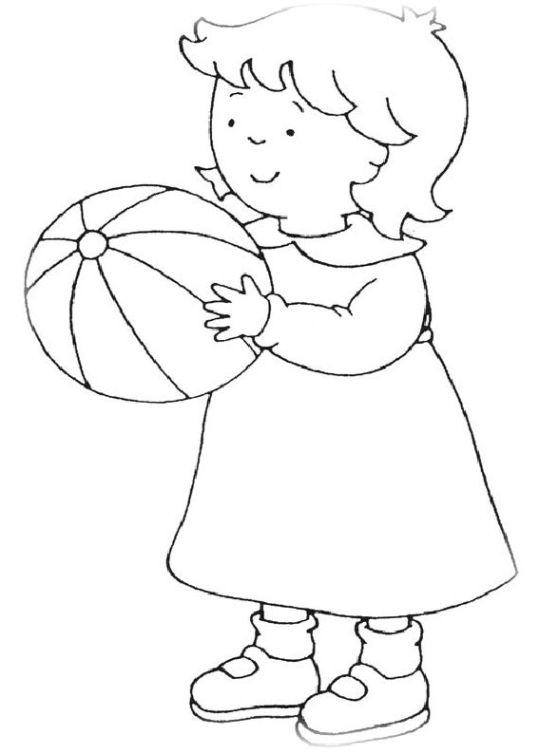 ausmalbilder für kinder caillou 24