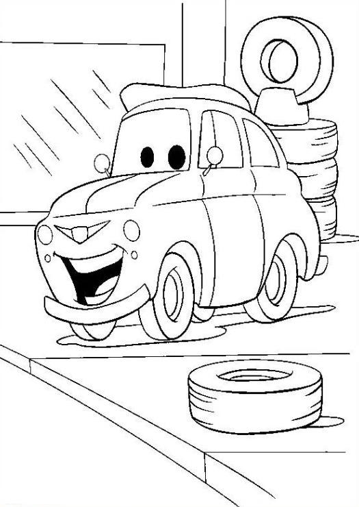 ausmalbilder für kinder cars 10
