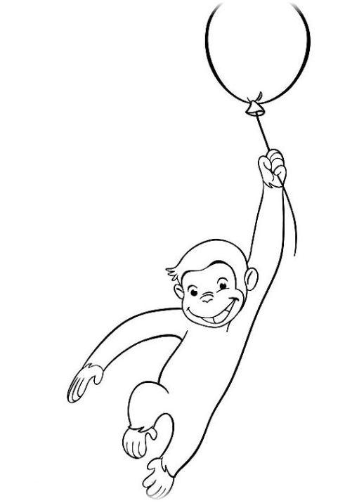 Coco Der Neugierige Affe Ausmalbilder Malvorlagen Kostenlos Ausdrucken