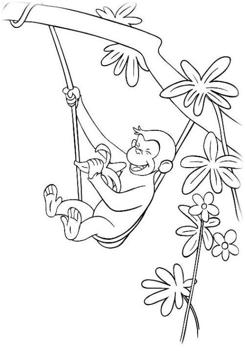 Fantastisch Affen Malvorlagen Bilder - Framing Malvorlagen ...