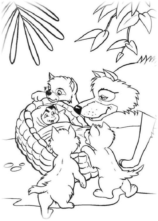 Ausmalbilder Für Kinder Das Dschungelbuch 27