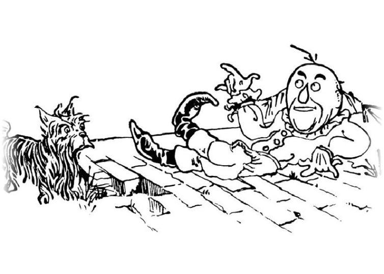 ausmalbilder für kinder der zauberer von oz 10