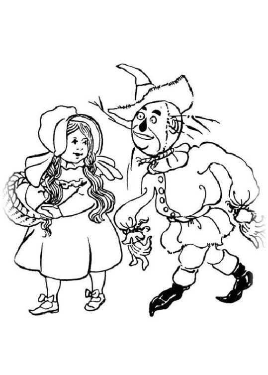 ausmalbilder für kinder der zauberer von oz 11