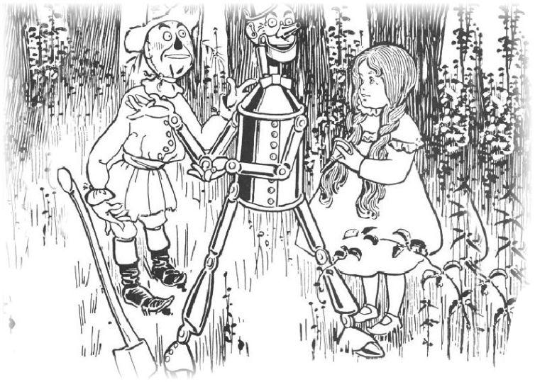 ausmalbilder für kinder der zauberer von oz 13
