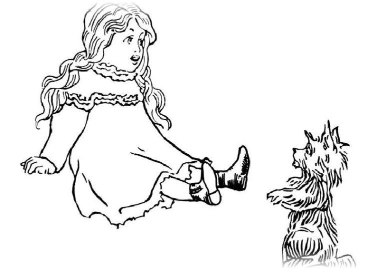 ausmalbilder für kinder der zauberer von oz 2