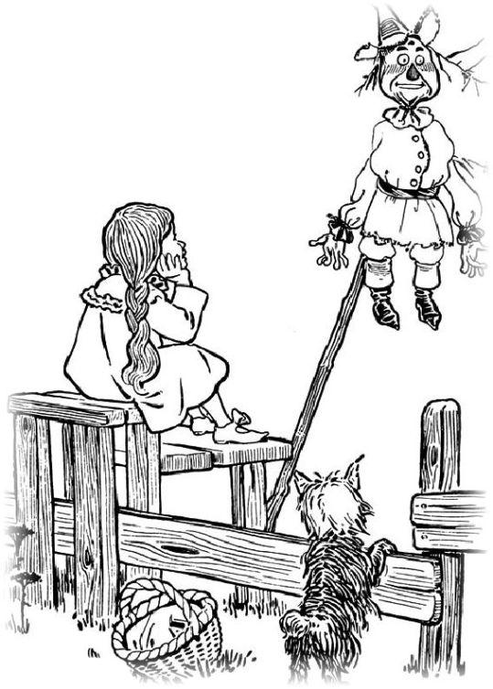 ausmalbilder für kinder der zauberer von oz 8