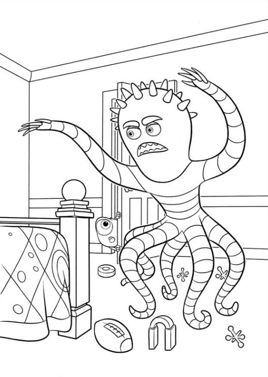 Wunderbar Monster Inc. Universität Malvorlagen Bilder - Beispiel ...