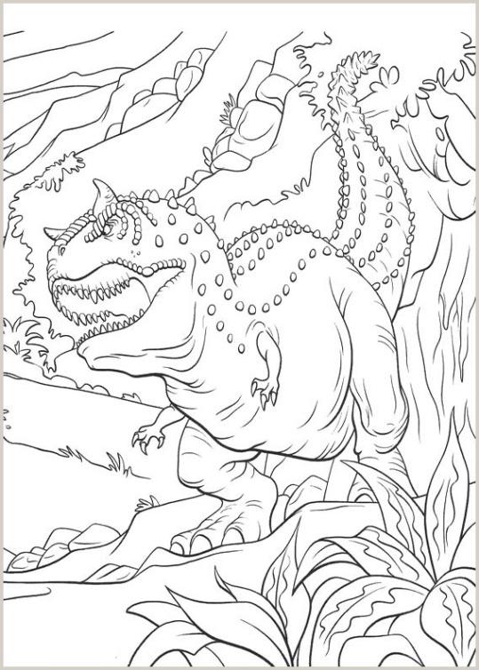 ausmalbilder für kinder dinosaurier 24