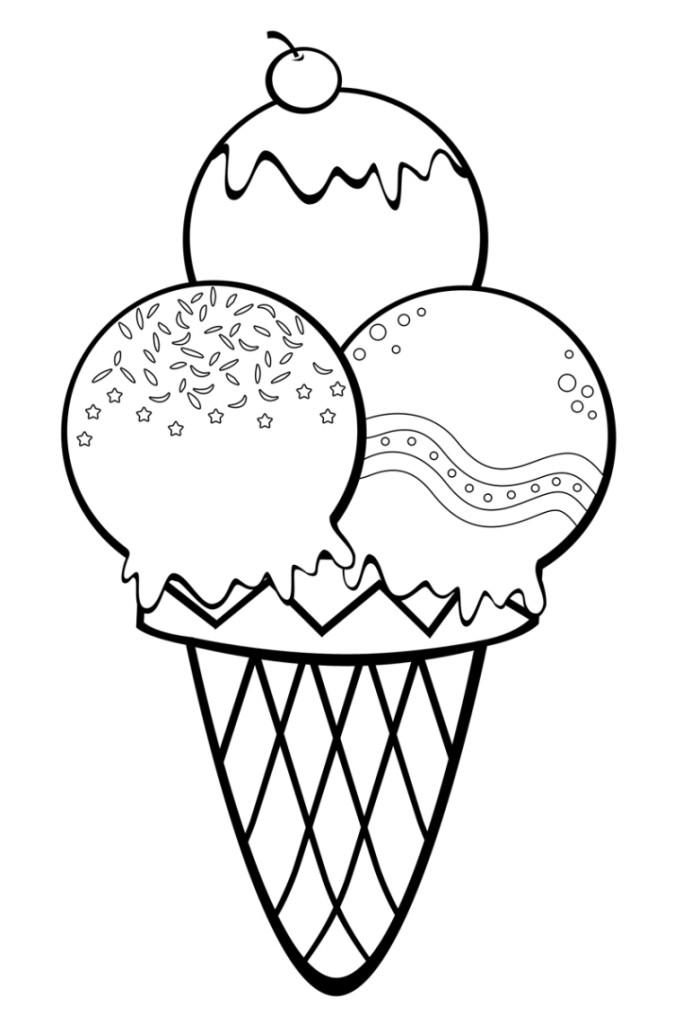 Ausmalbilder Für Kinder Eis 5