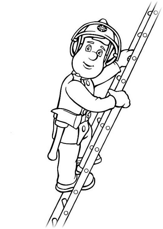 ausmalbilder für kinder feuerwehrmann sam 11