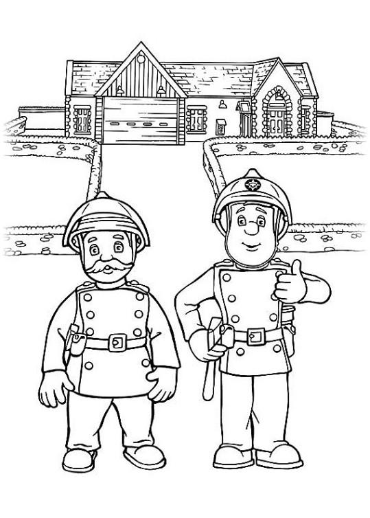 ausmalbilder für kinder feuerwehrmann sam 8