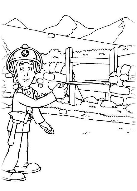 ausmalbilder für kinder feuerwehrmann sam 9