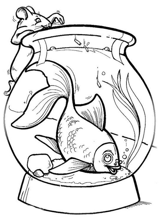 ausmalbilder für kinder fische 19