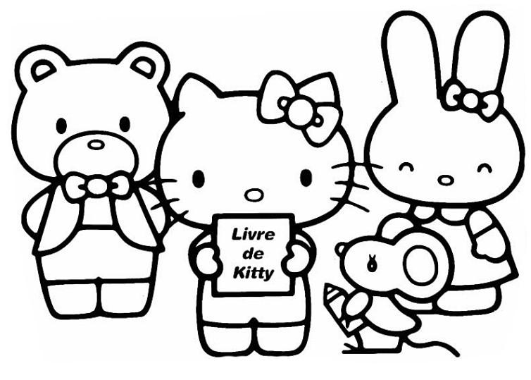 Ausmalbilder Für Kinder Hello Kitty 11