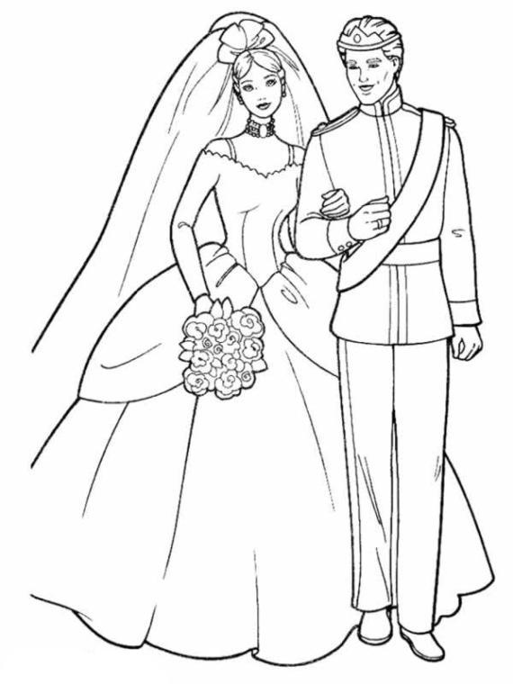 Malvorlagen Barbie Hochzeit | My blog