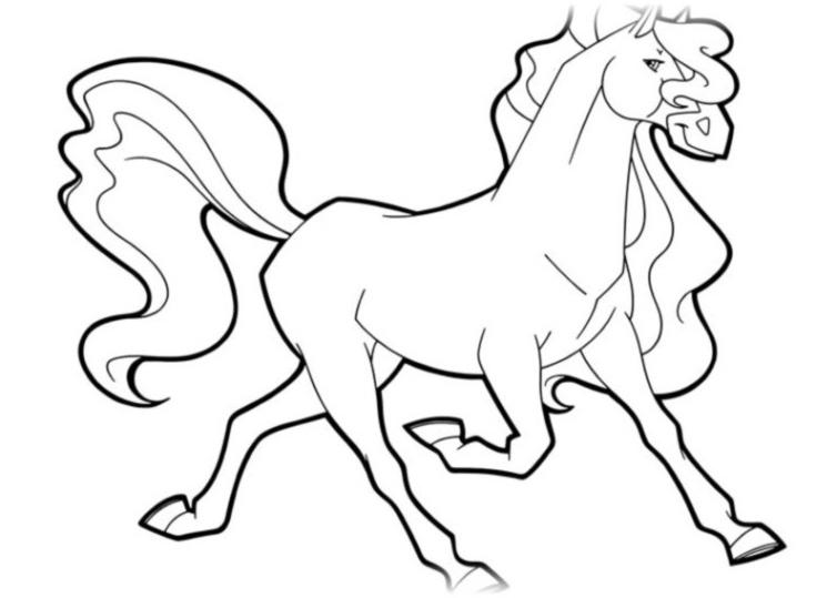 ausmalbilder für kinder horseland 9