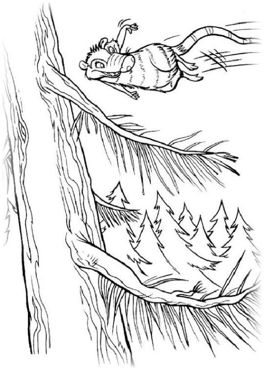 Ausmalbilder Für Kinder Ice Age 3