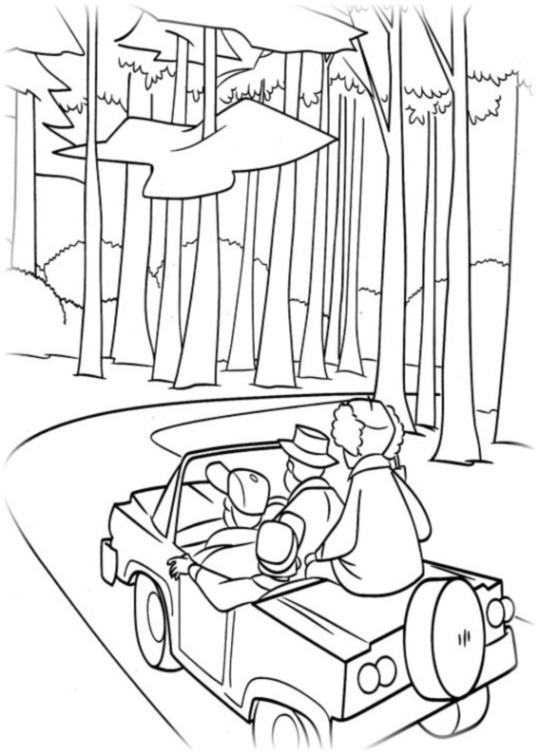 Ausmalbilder für Kinder Jagdfieber 15