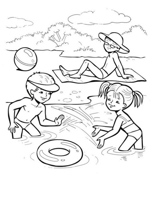 ausmalbilder für kinder jahreszeiten 10