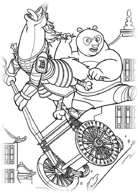 ausmalbilder für kinder kung fu panda 2 14