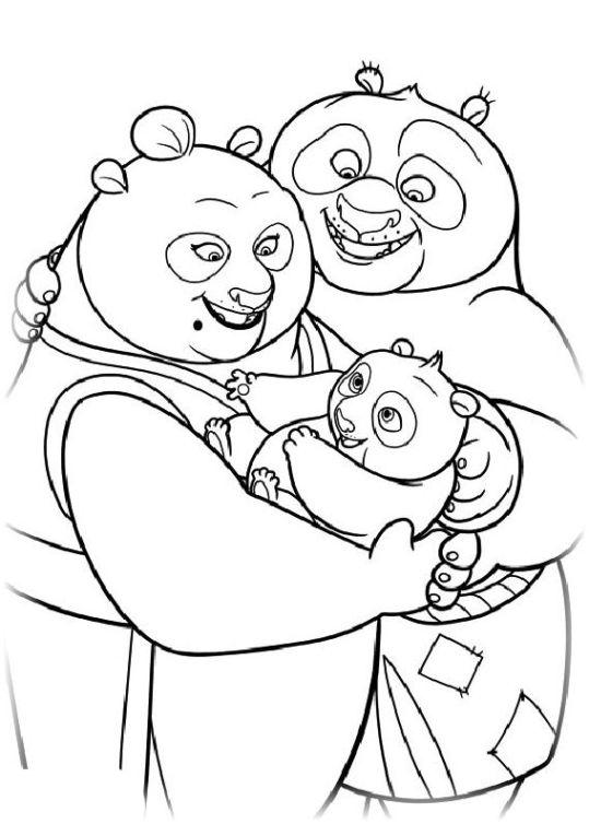 ausmalbilder für kinder kung fu panda 2 24