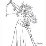 merida - legende der highlands ausmalbilder malvorlagen