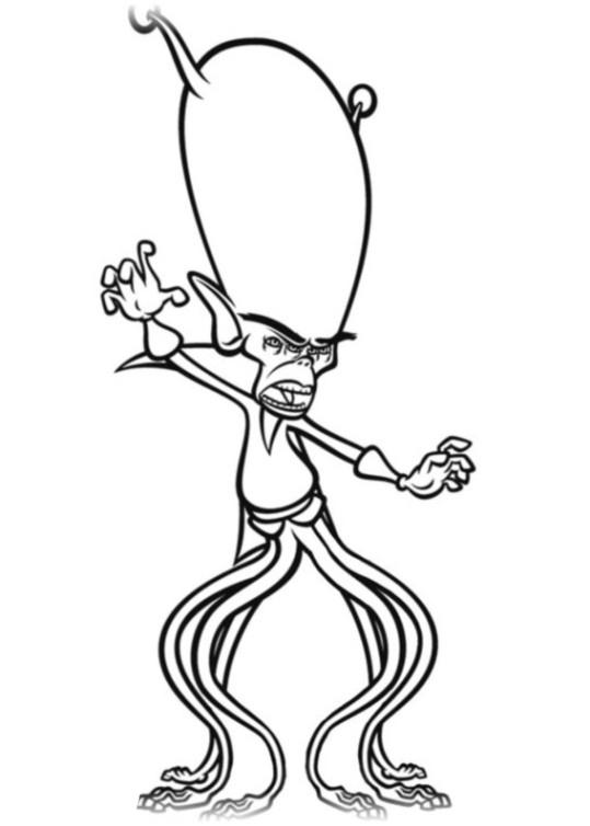 Groß Monster Vs Aliens Malvorlagen Zeitgenössisch - Framing ...