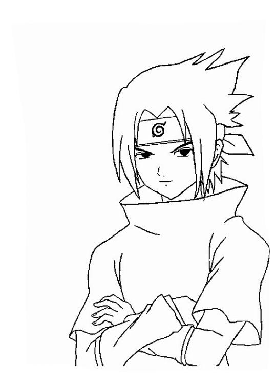Ausmalbilder F 252 R Kinder Naruto 19
