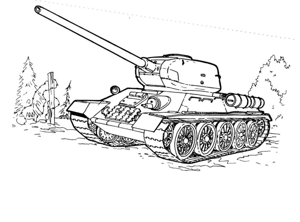 panzer tanks coloring pages - photo#36