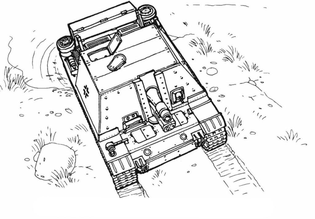 tank kleurplaat ausmalbilder fr kinder panzer 13