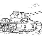 Panzer Ausmalbilder Malvorlagen Kostenlos Ausdrucken
