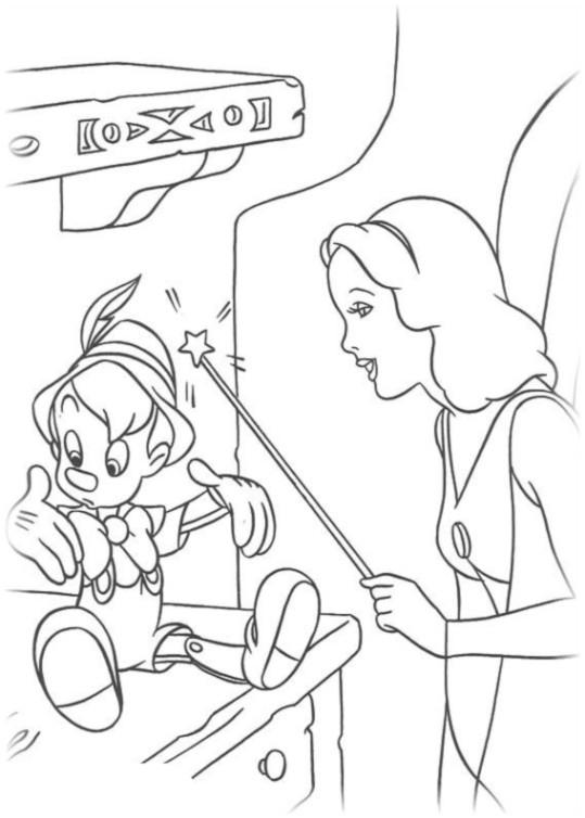 ausmalbilder für kinder pinocchio 10