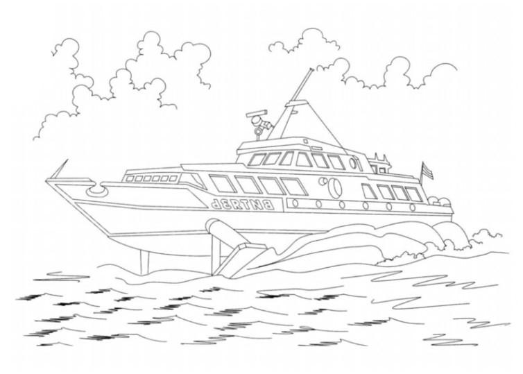 ausmalbilder für kinder schiffe 15