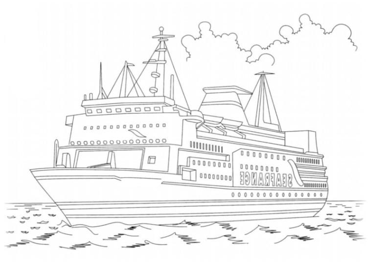 ausmalbilder für kinder schiffe 4