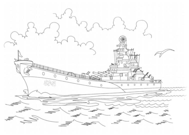 ausmalbilder für kinder schiffe 9