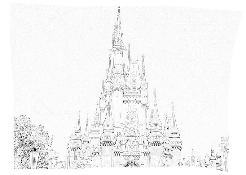Ausmalbilder Für Kinder Schloss 9