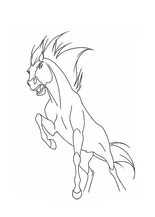 ausmalbilder pferde spirit  kostenlose stundenpläne zum