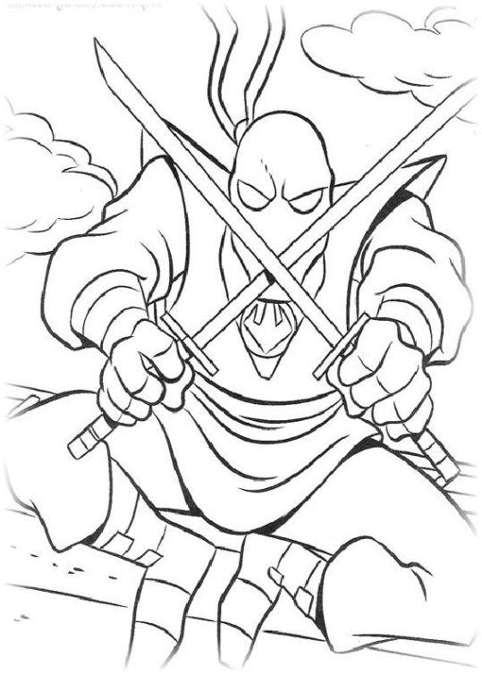 20 besten ideen teenage mutant ninja turtles ausmalbilder