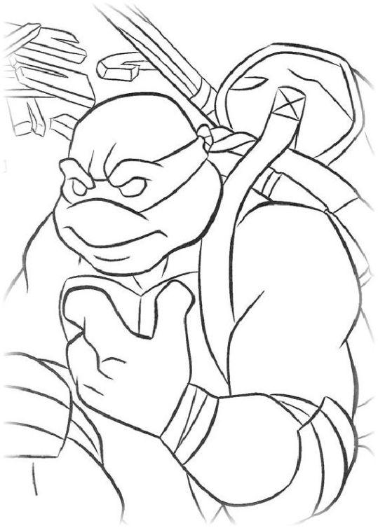 ausmalbilder für kinder teenage mutant ninja turtles 18