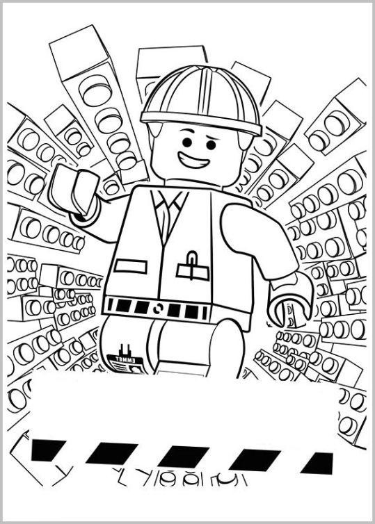 Beste Lego Movie Ausmalbilder Kostenlos Bilder - Ideen färben ...
