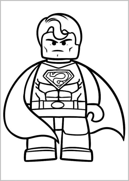 ausmalbilder für kinder the lego movie 12