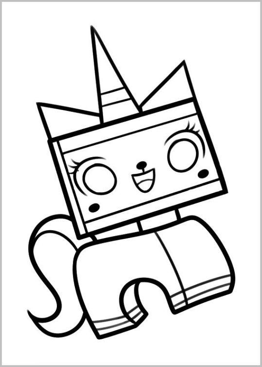 ausmalbilder für kinder the lego movie 14