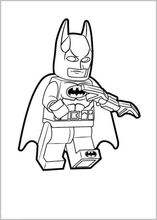 bad cop lego coloring pages - photo#26
