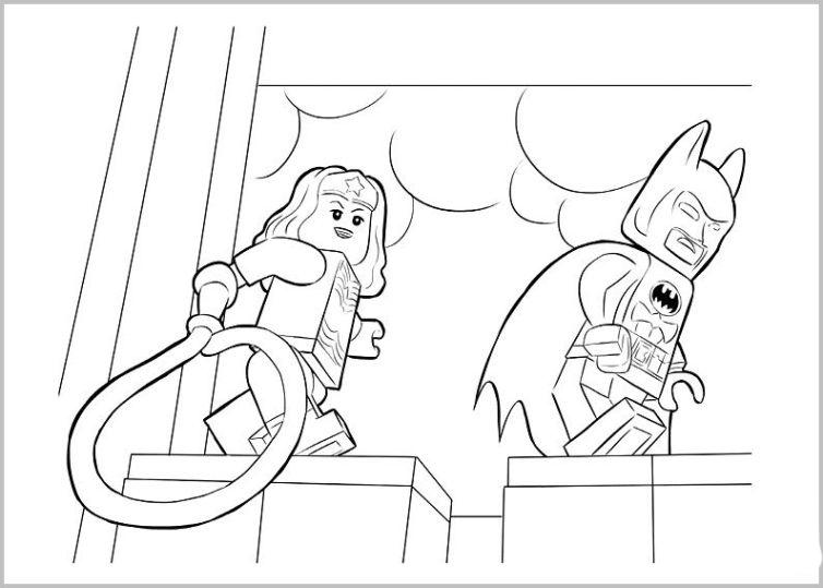 ausmalbilder für kinder the lego movie 22