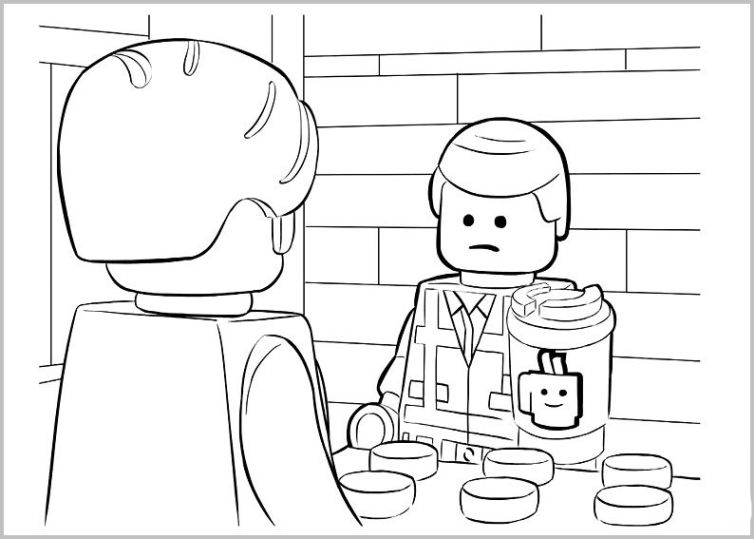 Ausmalbilder Für Kinder The Lego Movie 26