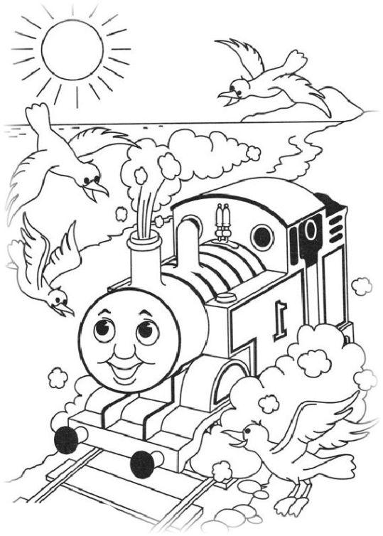 ausmalbilder für kinder thomas die kleine lokomotive 20